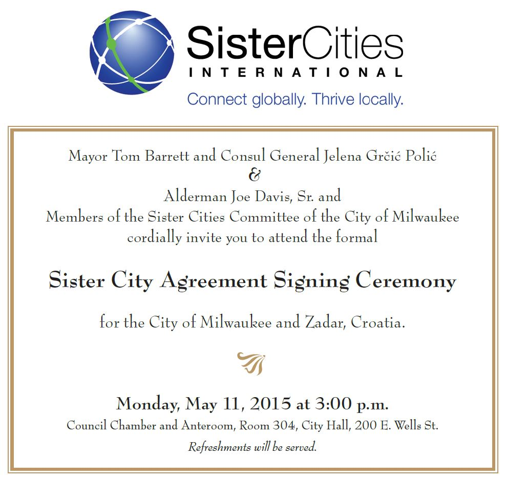 sister city agreement